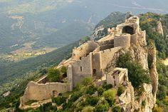 Peyrepeteuse, Cathar castle