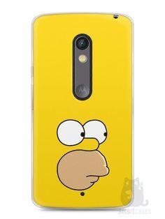 Capa Capinha Moto X Play Homer Simpson Face - SmartCases - Acessórios para celulares e tablets :)