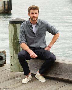 Liam Photocall em Sydney para promover Independence Day Resurgence