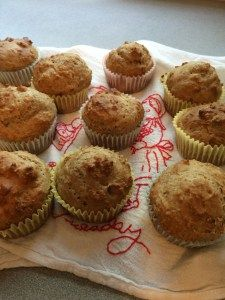 Honey Yogurt Muffins