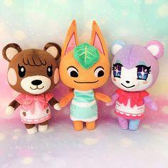 Animal Crossing Plush, Animal Crossing Pocket Camp, Kawaii Plush, Animal Games, Plushies, Nintendo, Geek Stuff, Super Cute, Aesthetics