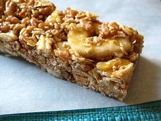 Simply Healthy Family: Home Made Banana-Chocolate Crisp Granola Bars {and a Secret-Under Cover Give Away!}