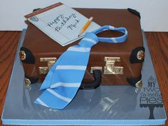 Briefcase case for a lawyer for his birthday