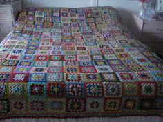 Crochet Blanket Quilts, Blanket, Crochet, Handmade, Hand Made, Quilt Sets, Ganchillo, Blankets, Log Cabin Quilts