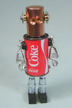 found-object-robot-sculpture
