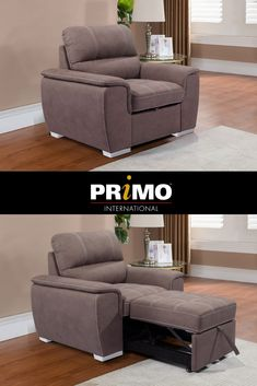 Cassio - Media Sleeper  #mediasleeper  #cassio  #sleeper  #chair  #furniture Sleeper Chair, Recliner, Small Space Solutions, Corner House, Small Spaces, Reception, Lounge, Furniture, Home Decor
