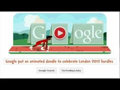 London 2012 Hurdles - An Interactive Animated Google Doodle