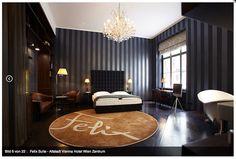 Hotel Altstadt Vienna, Suite Felix - Badewanne im Zimmer