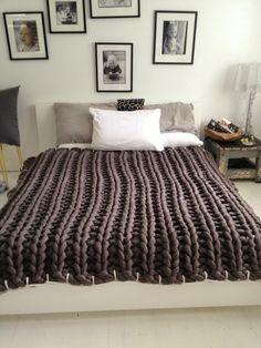 REal Living Grey blanket · little dandelion · Jacqui Fink