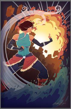 Legend Of Korra by 0aku.deviantart.com on @DeviantArt