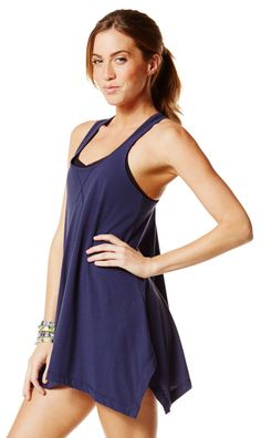 Soft-N-Stunning Long Tank |Use savings code 10SALE to save 10% on Zumba® wear on zumba.com. Click to shop with 10% discount http://www.zumba.com/en-US/store/US/affiliate?affil=10sale
