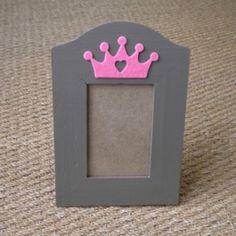 Cadre Princesse rose - décoration pour enfants - DécoGy - Fait Maison