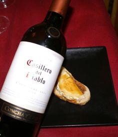 Casillero del Diablo (Chile) - Tosta de Mermelada de Cerveza con Queso de Cabra