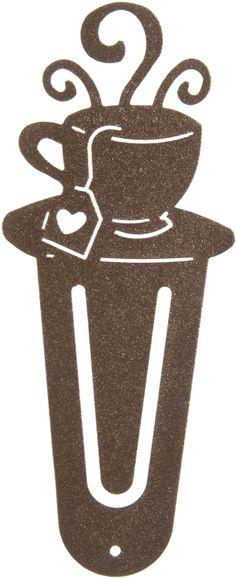Cup of Tea Bookmark www.rusticeditions.com