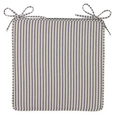 Seat pad   john lewisNautical Stripe   Seat Pad Cushion   Pack of 2 from Homebase co uk  . Seat Pads For Dining Chairs John Lewis. Home Design Ideas
