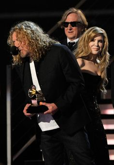 Robert Plant, Alison Krauss, T-Bone Burnett. When Grammys went right where they ought to.