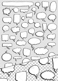VECTOR DOWNLOAD (.ai, .psd) :: http://jquery-css.de/pinterest-itmid-1000154475i.html ... 46 Hand Drawn Speech Bubbles Pack ...  baloon, black, cartoon, comics, drawn, hand, illustration, speech balloons, vector, white  ... Vectors Graphics Design Illustration Isolated Vector Templates Textures Stock Business Realistic eCommerce Wordpress Infographics Element Print Webdesign ... DOWNLOAD :: http://jquery-css.de/pinterest-itmid-1000154475i.html