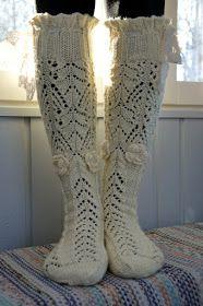 KARDEMUMMAN TALO: Maalaisromanssi - kaunista romantiikkaa Projects To Try, Socks, Pattern, Blog, Pictures, Crafts, Fashion, Photos, Moda