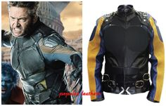 X-MEN days of future past wolverine leather jacket