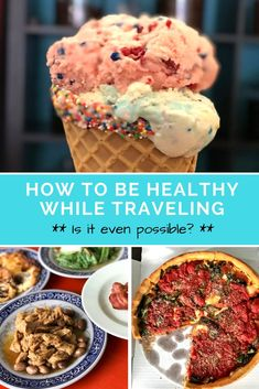 Is it possible to stay healthy while traveling? Have you nailed down a fitness and nutrition routine every time you go on a trip? I have tips and suggestions for dieting and weight loss when your routine is anything but routine so you can travel healthier.