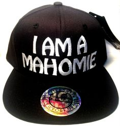 da95746bf4e I AM A MAHOMIE Snapback Hat Flat Bill Music by urfashionistas