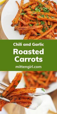 Carrot Recipes, Chili Recipes, Veggie Recipes, Vegetarian Recipes, Cooking Recipes, Carrots Side Dish, Slow Cooker Roast, Quick Weeknight Meals, Pescatarian Recipes