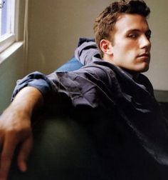 Ben Affleck. Reminds me of my stepson, Dexter.