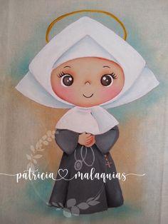 Santa Clara, Cute Cartoon, Quilling, Catholic, Disney Characters, Fictional Characters, Clip Art, Angel, Country