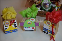 Toy Story Party Favor Bags / Woody Favor Bag / Jessie Favor
