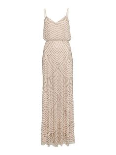 Art deco beaded dress - This is so beautiful - it reminds me of the dress Keira Knightly wore in Atonement.