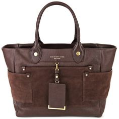 Marc by marc jacobs bags DARK BROWN ($330) ❤ liked on Polyvore