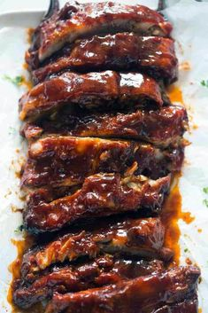 Sweet slow cooker ribs youtube seasonal favorites and other ideas for this week.