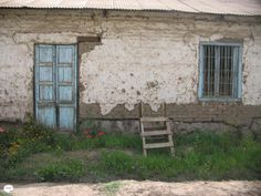 Porta -janela -escada