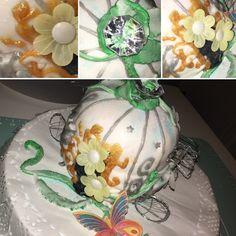 Cinderella Carriage cake Carriage Cake, Cinderella Carriage, How To Make, Homemade