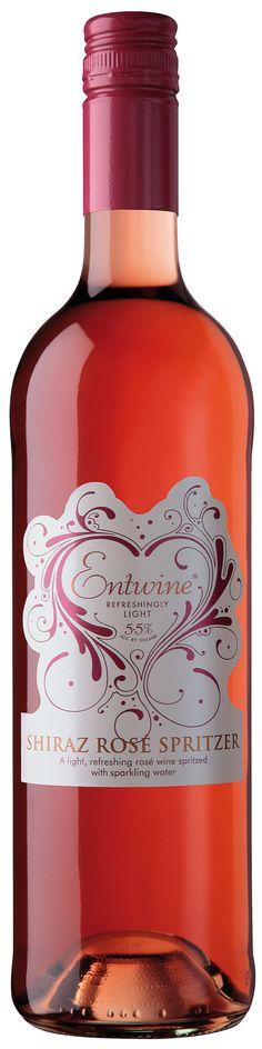 Entwine Rose. Wine.