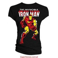 Koszulka damska Iron Man - komiks