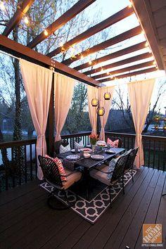 Cool Backyard Deck Design Idea 15