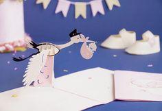 3D pop-up paper creation