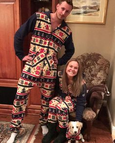 We make matching (Christmas) pajamas for your whole family... Even your 8bf044918