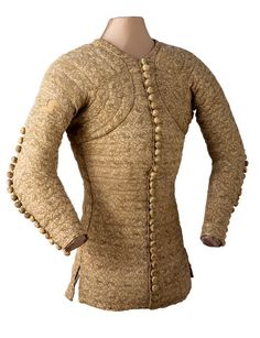 Doublet of Charles de Blois, last quarter 14th century  From Les Arts Decoratifs