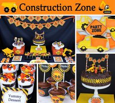 Hayden's Construction Zone  Party #constructionparty