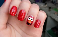 Elmo nails aren't just for kids you know.