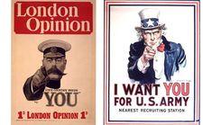 Iconos de guerra (4) Tu país te necesita | Cronología de la Primera Guerra Mundial - WWI