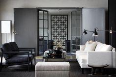 Vinci stol i skinn Living Room Modern, Home Living Room, Living Room Decor, Living Spaces, Classic Interior, Contemporary Home Decor, Beautiful Interiors, Luxury Living, Interior Design Inspiration
