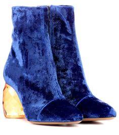 844311b596 Velvet ankle boots. mytheresa.com. Velvet ankle boots