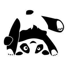 Wandtattoo Wandtattoo Panda Zsasa Purzelbaum