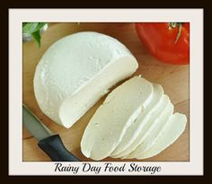 Rainy Day Food Storage: Four Homemade Simple Cheese Recipes