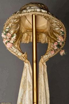 In the Swan's Shadow: LADIES' BONNET, 1850-1865