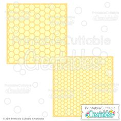 Honeycomb+Background+Stencil+Overlays+Free+SVG+Files