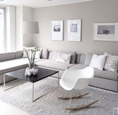 Simple And Small Living Room Designs With Modern Interior - Living Room Grey, Home Living Room, Interior Design Living Room, Living Room Designs, Living Room Decor, Bedroom Decor, Cozy Living, Interior Livingroom, Apartment Living